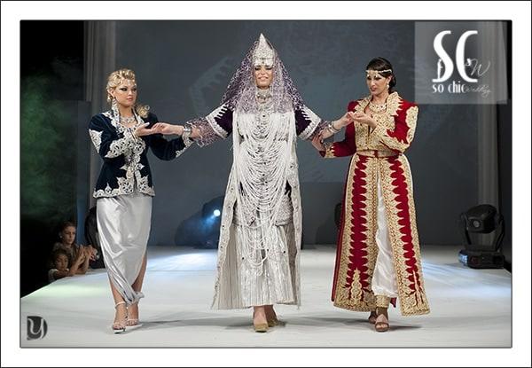 Defilé robes orientales sochic mariage