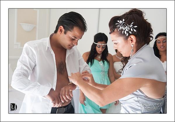 preparatif mariage gitan