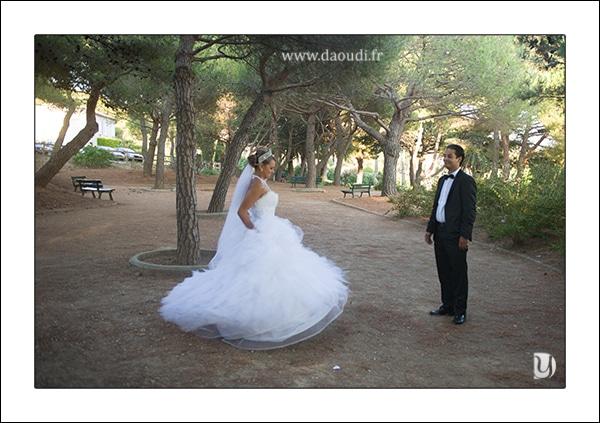 Parc mariage dans le var
