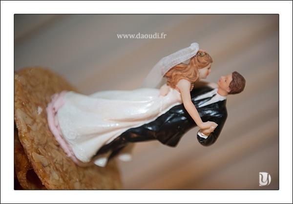Figurine pièce montée mariage