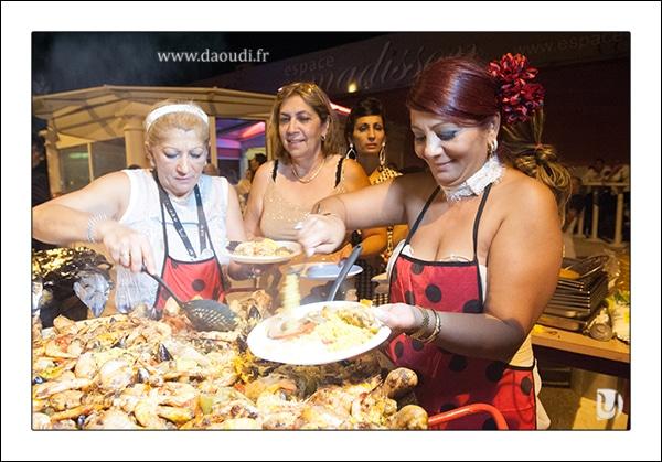 Repas mariage gitan à Toulon