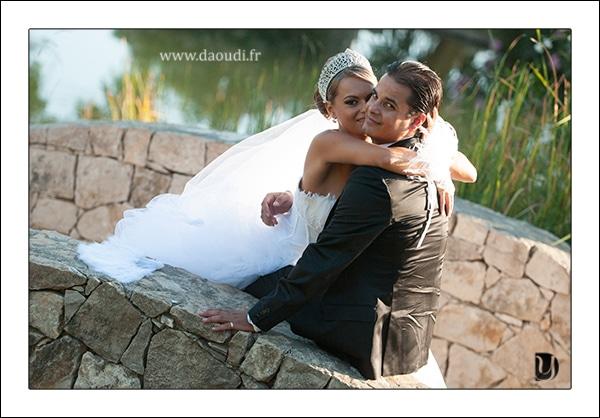 Photo couple mariage gitan