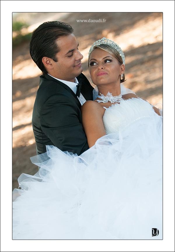 Mariage parc six fours