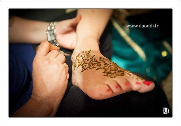 Henne mariage oriental