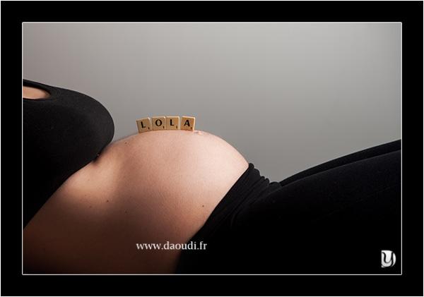 photo studio femme enceinte