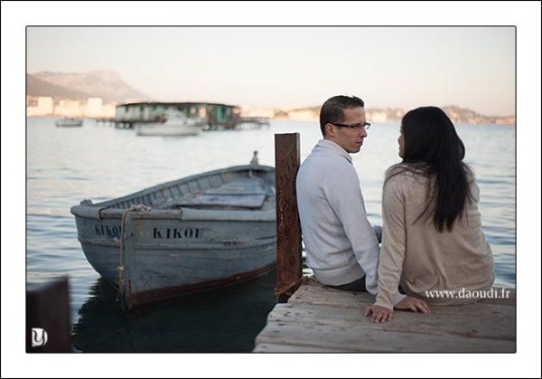 photos couple marié la seyne sur mer