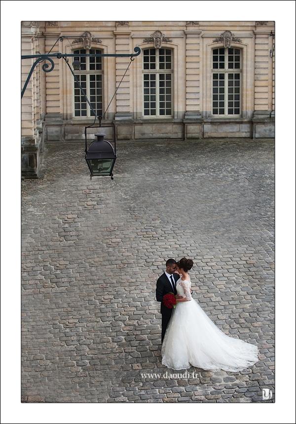 photos couple marié fontainebleau