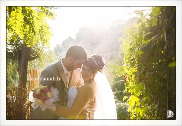 Mariés sous beau soleil