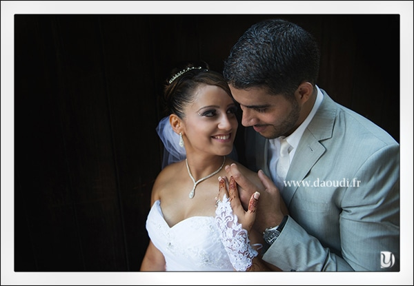Séance photo couple mariés