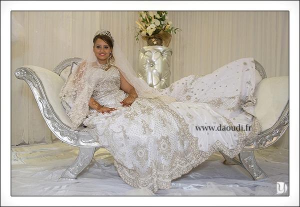 Robe orientale mariage à Toulon
