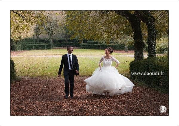 Couple mariage à Paris