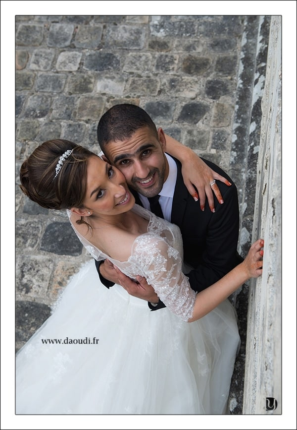 Couple oriental en mariage