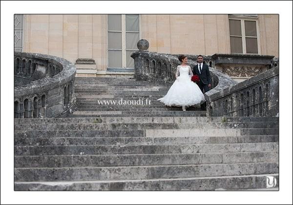 Couple mariage oriental à Paris