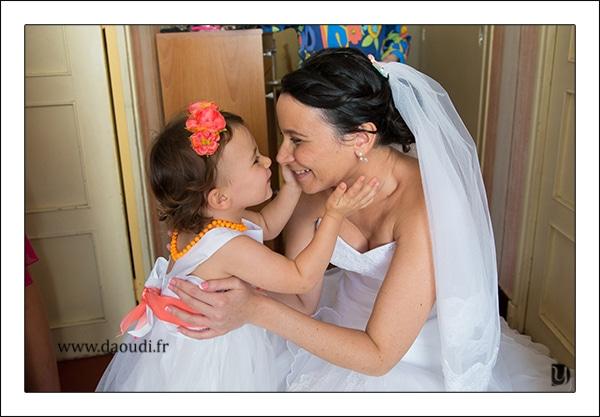 préparatifs mère fille mariage