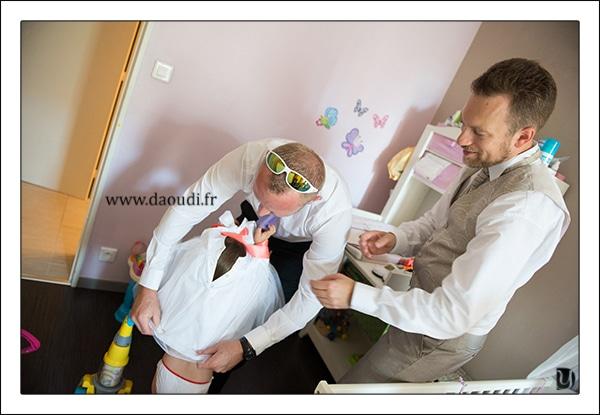 préparatifs fille mariage