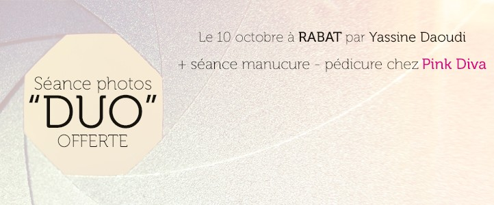 Concours : Séance photos DUO offerte à Rabat