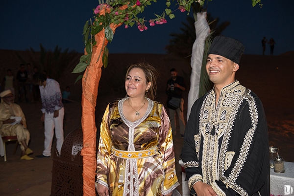 cérémonie laique mariage à merzouga