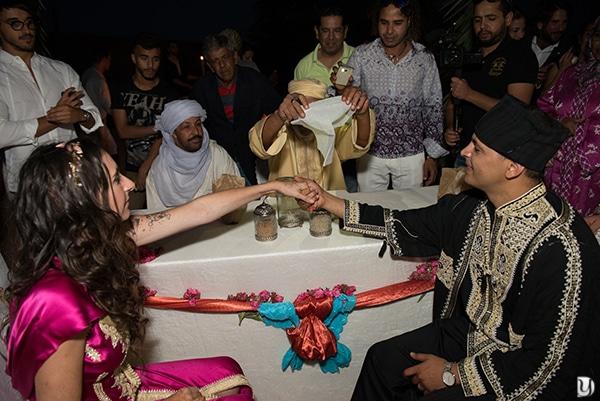 cérémonie laique sur les dunes de merzouga