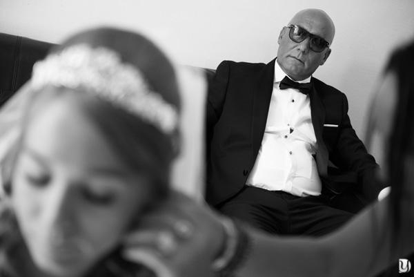 Préparatifs mariage gitan