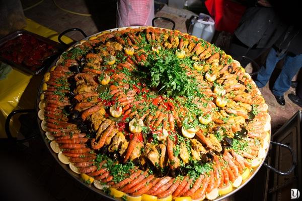 Paella geante mariage gitan