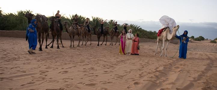 Mariage à Merzouga au Maroc d'Ana et Amine