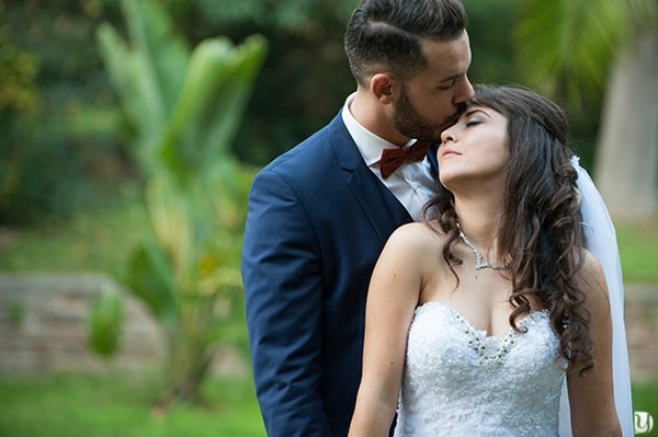 Photos couple mariage au mourillon