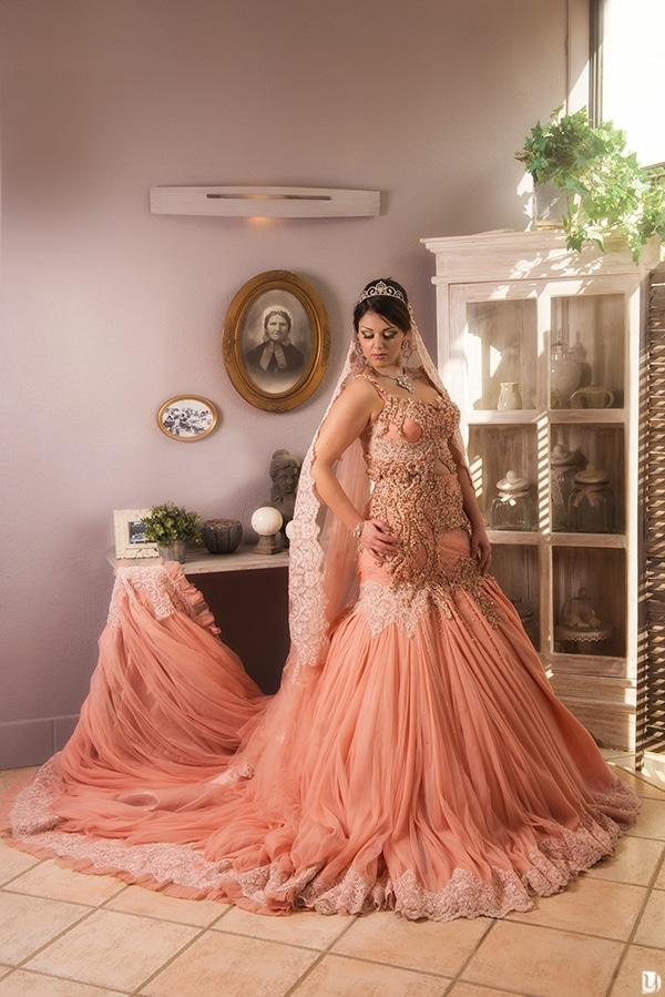 Robe haute couture orientale