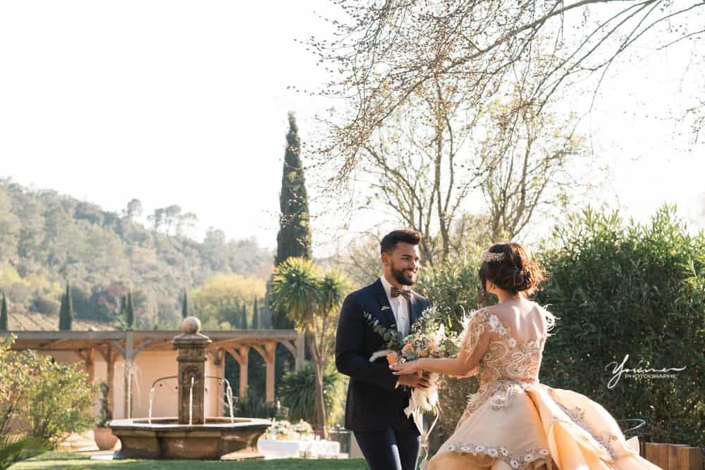 Photos couple mariage oriental