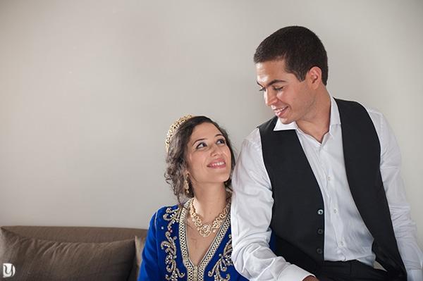 Couple mariage à Rabat