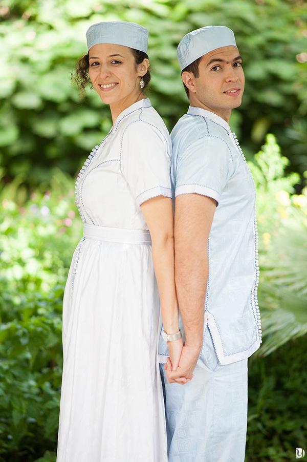 Couple marié à villa mandarine Rabat