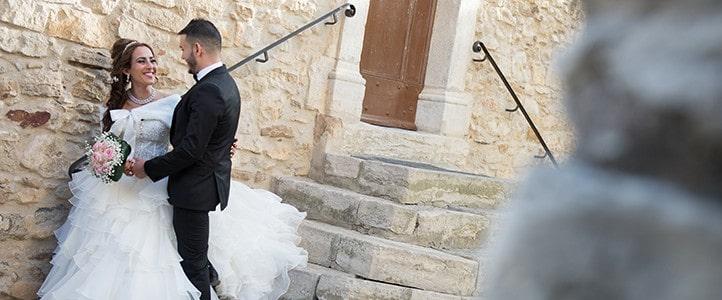 Mariage au Beausset dans le village provençal