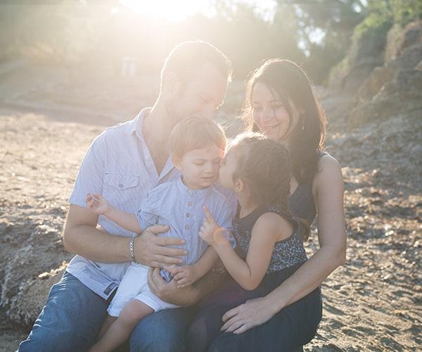 Photographe portrait famille sur Toulon