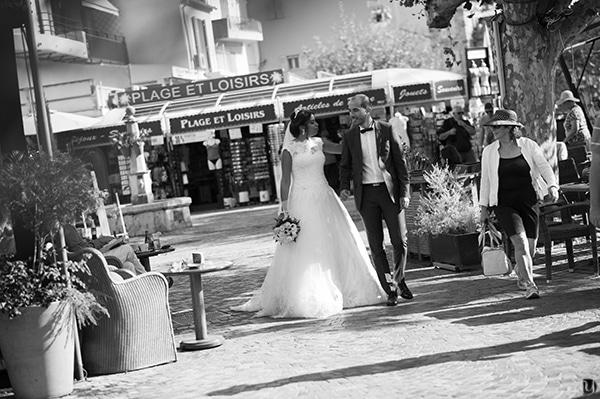 photographe de mariage au lavandou