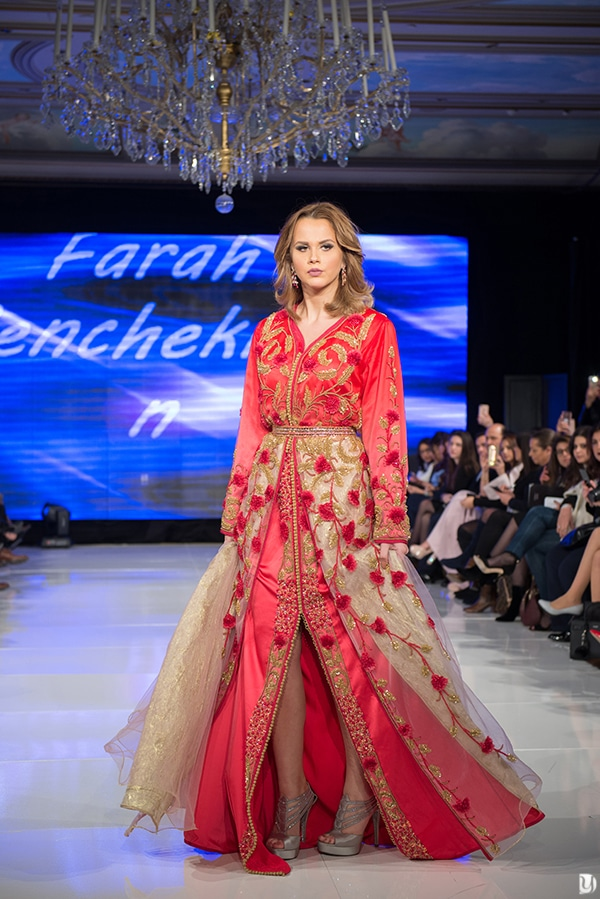 Caftan du maroc, Paris Fashion week 2017 Farah Benchekroun