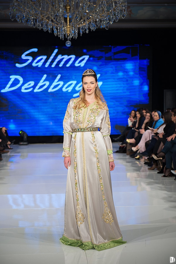 Caftan du maroc, Paris Fashion week 2017 Salma Debbagh