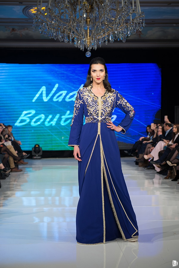Caftan du maroc, Paris Fashion week 2017 Nadia Boutaleb