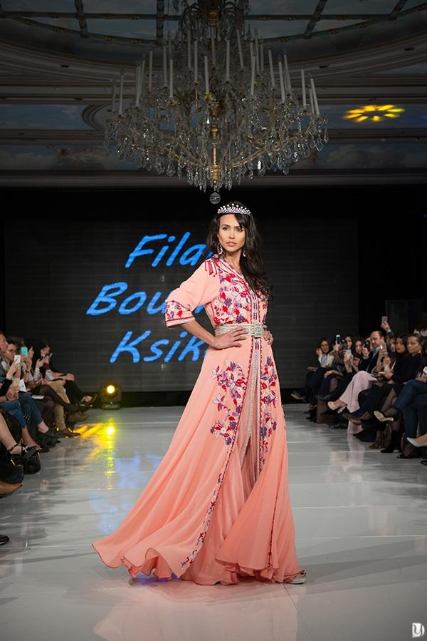 Caftan du maroc, Paris Fashion week 2017 Filali Bouchera Kssikes