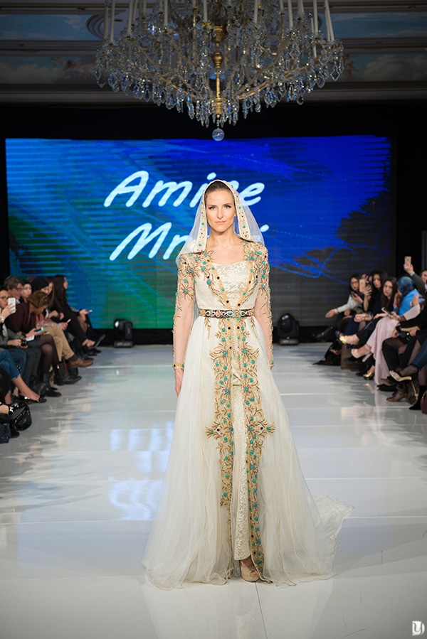 Caftan du maroc, Paris Fashion week 2017 Amine Mrani