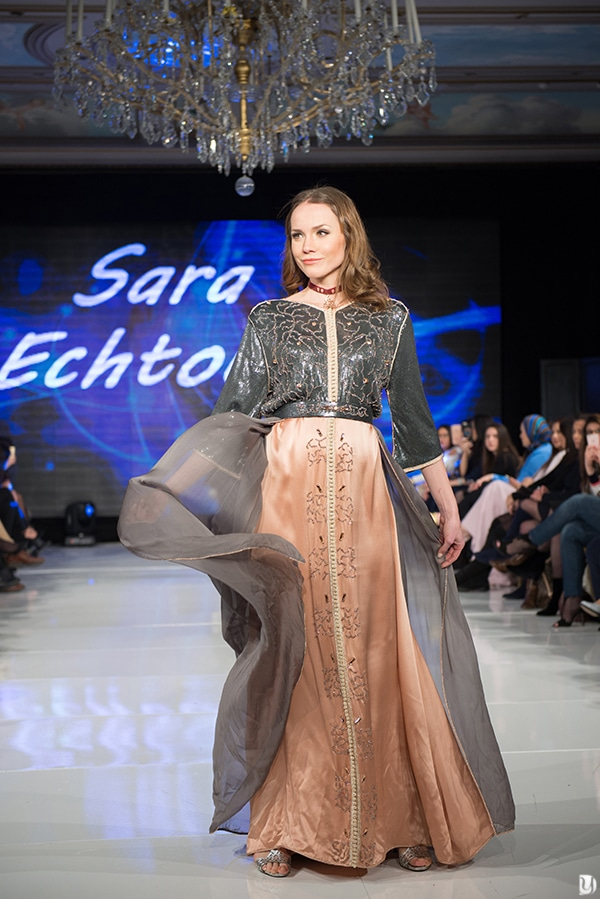 Caftan du maroc, Paris Fashion week 2017 Sara Echtouki