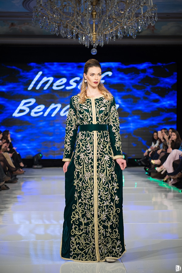 Caftan du maroc, Paris Fashion week 2017 Inesaf Benaissa
