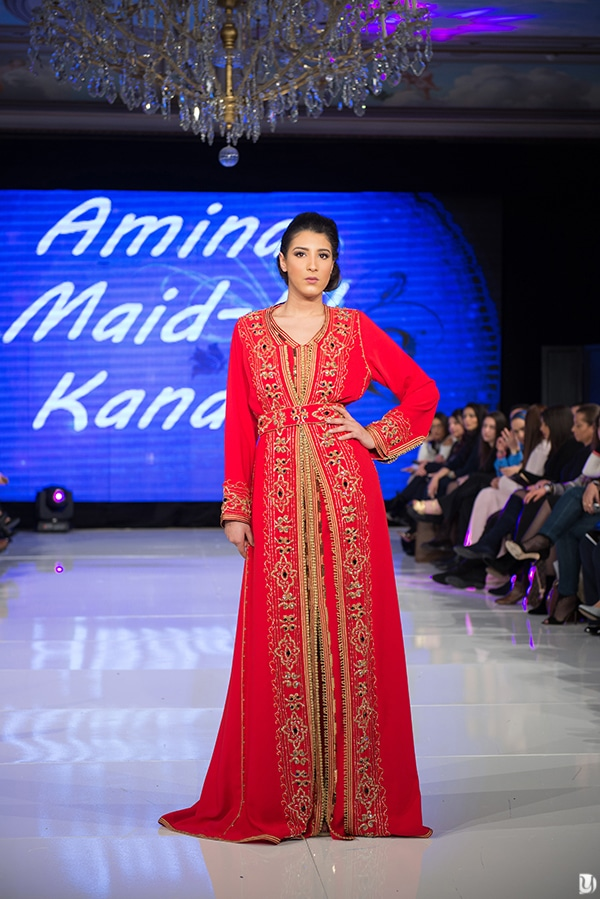 Caftan du maroc, Paris Fashion week 2017 Amina Maid-El Kanabi