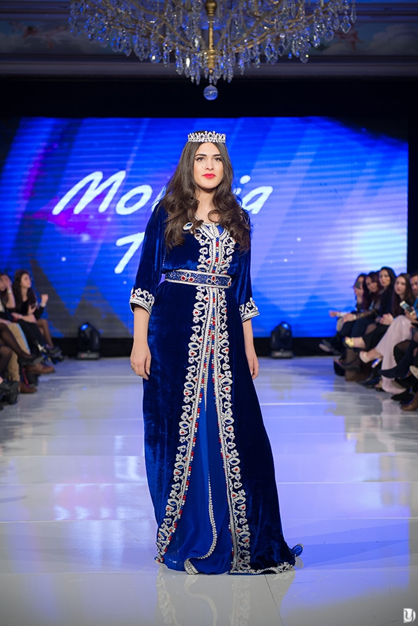 Caftan du maroc, Paris Fashion week 2017 Mounia Tazi