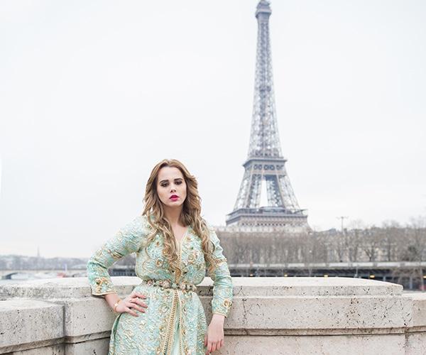 Shooting pour Caftan du Maroc Premium Signature, Paris fashion week 2017