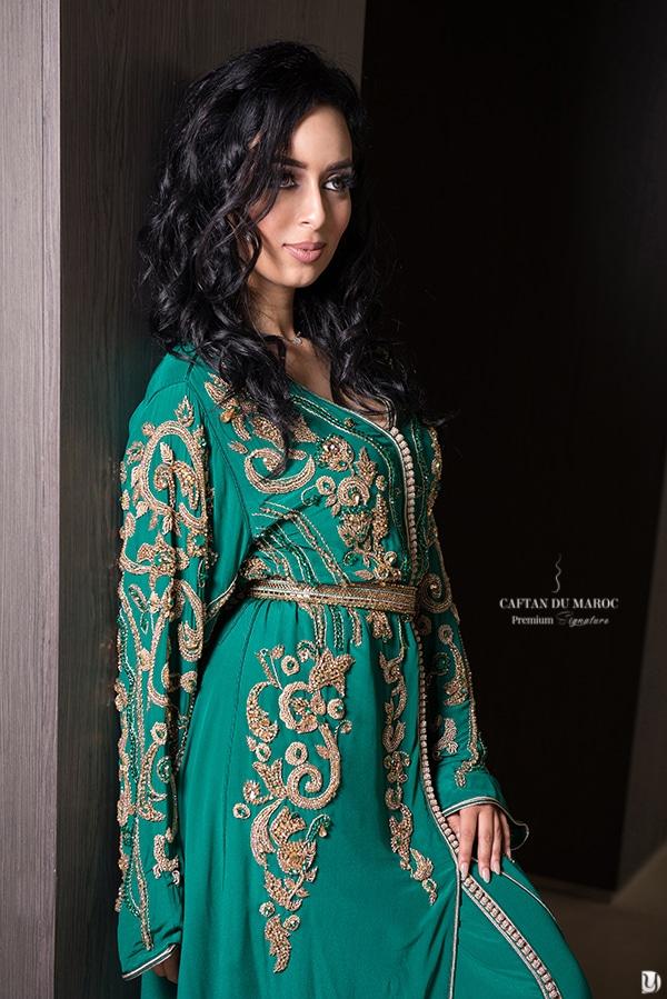 Caftan haute couture Farah Benchekroun