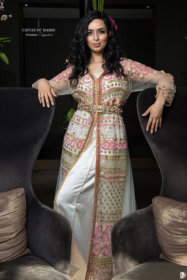 Caftan haute couture Amine Mrani