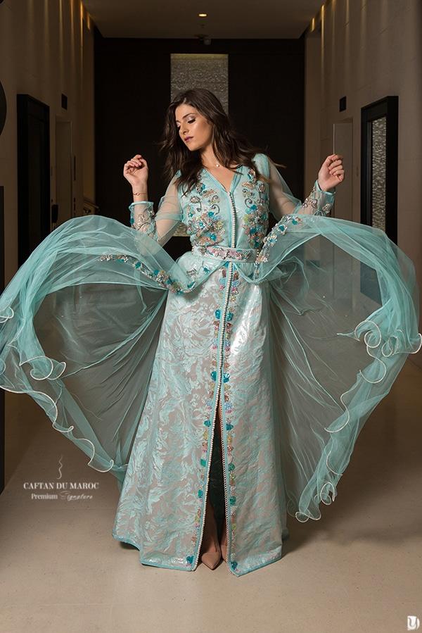 Défilé robe orientale