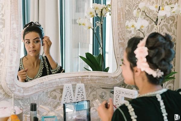Préparatifs de la mariée avec nora la coiffeuse