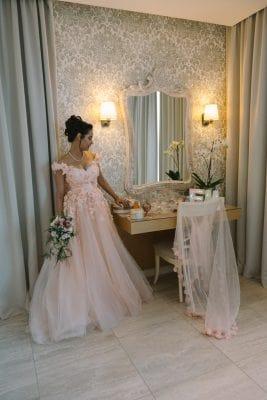 Belle robe de mariée en photo