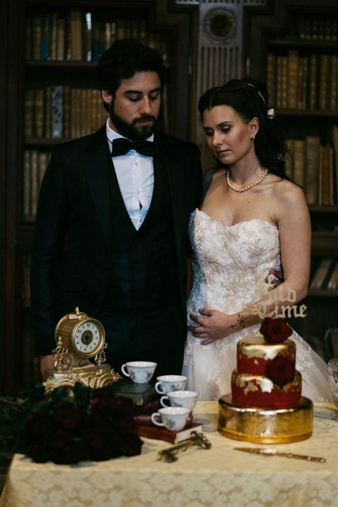 Table pièce montée mariage