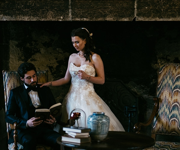 Inspiration mariage au château Loumarin » La belle et la bête «